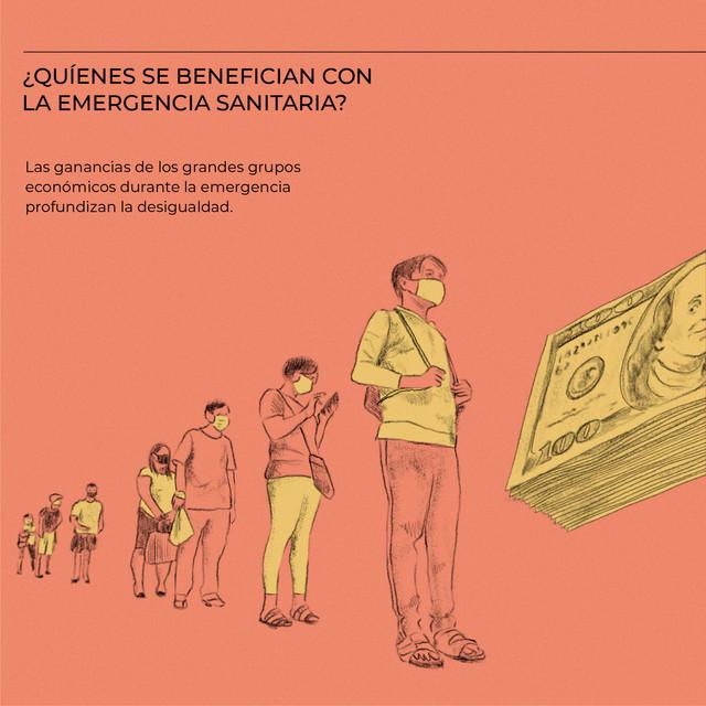 ¿Quiénes se benefician con la emergencia sanitaria?