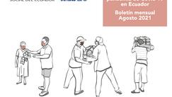 Boletín mensual Agosto 2021 | Situación de la pandemia de Covid-19 en Ecuador