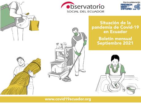 Boletín mensual Septiembre 2021   Situación de la pandemia de Covid-19 en Ecuador