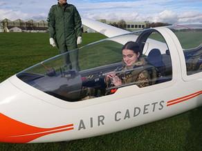 150 Squadron Go's Gliding