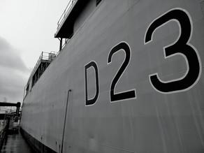 150 go Training on HMS Bristol