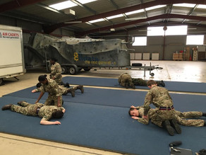Air Cadets complete First Aid Training