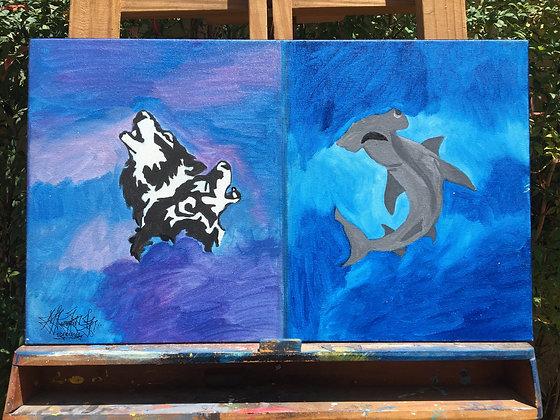 Nº 6 - Lobo e Tubarão