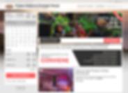 schermata del booking engine dell'agritu