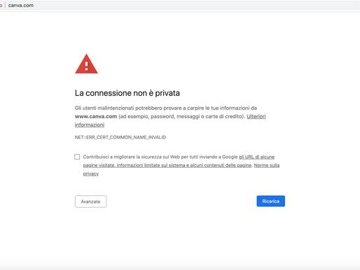 CANVA: problemi di accesso per milioni di utenti. Attacco Hacker?
