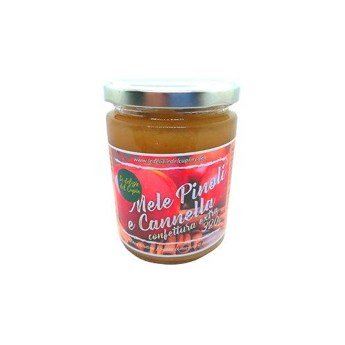 Confettura Extra Mele Pinoli e Cannella 320g