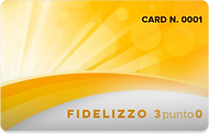 card con numerazione progressiva frontal