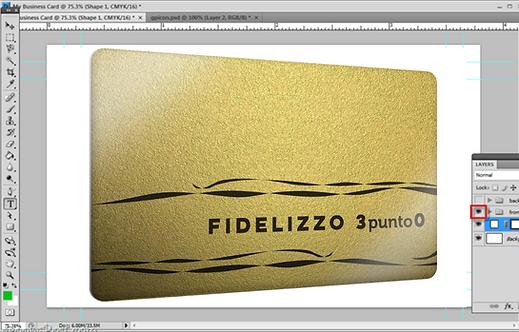 *Creazione Grafica della CARD