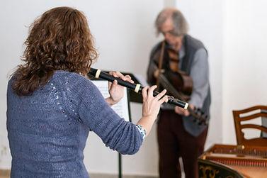 Tafelmusik I rehearsal with Sigiswald Ku