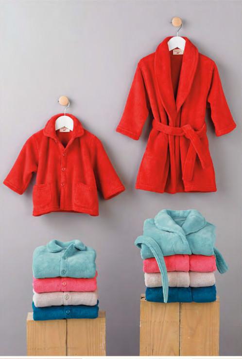 peignoir polaire basique enfant sylviethiriez issoire linge de maison issoire accessoires. Black Bedroom Furniture Sets. Home Design Ideas