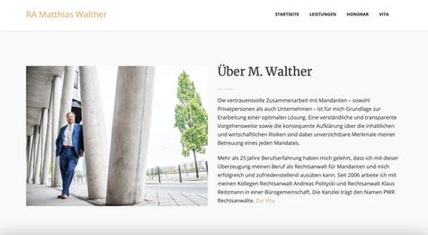 Rechtsanwalt M. Walther