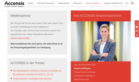 Acconsis