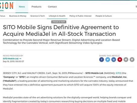 Attorney Jonathan Black facilitates Definitive Agreement with Nasdaq Company, Sito Mobile