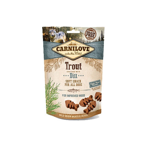 Carnilove Dog Snack Semi-Umido Trota e Aneto - 200 GR
