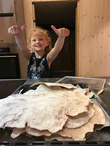 Flatbrød-baking