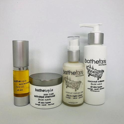 bathetopia skin care bundle - necessities!