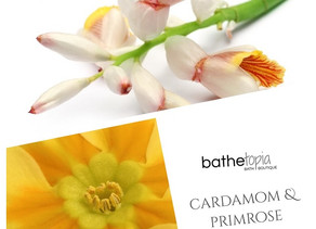 this weeks waft! 03 cardamom & primrose, a plant-based fragrance