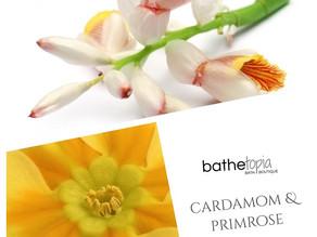 this weeks waft! 03 cardamom & primrose, a plant-based fragrance