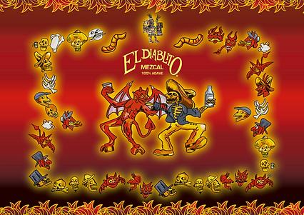 Logo el Diablito Mezcal