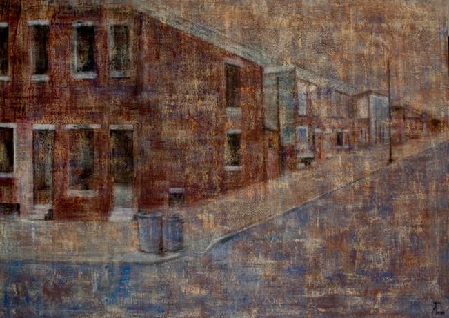 """"""" La maison rouge"""" 130x89"""