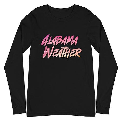 Alabama Weather Unisex Long Sleeve Tee