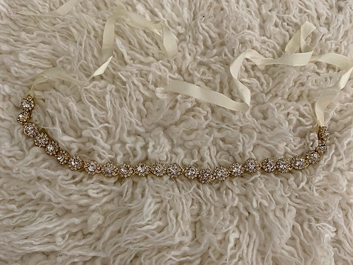 Dripping in diamonds headband