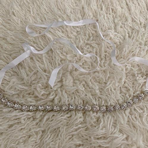 Dripping in diamond headband