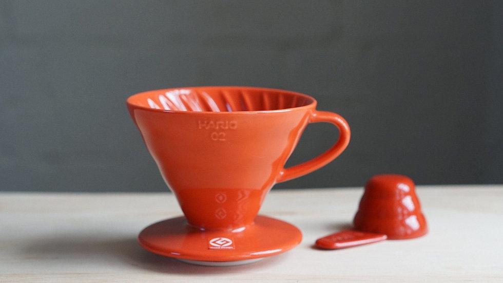 Hario V60 Dripper 02 Ceramic Red