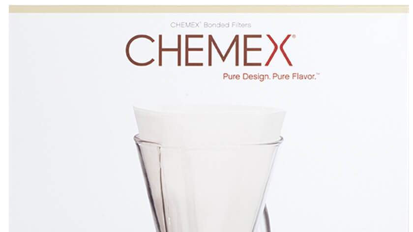 Chemex 1-3 cup paper filters (FP-2)