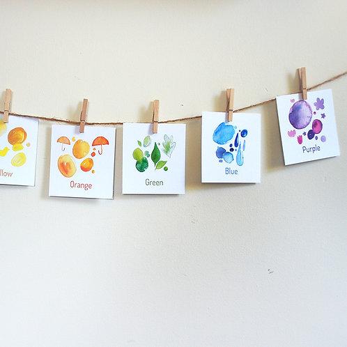 Colour Flash Card Pack