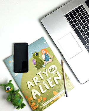 Finished Book with Marketing Tools