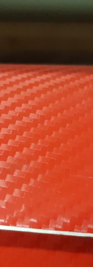 3D Carbonio Rosso