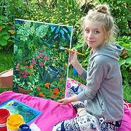 Erin Cutler Painting Illustration