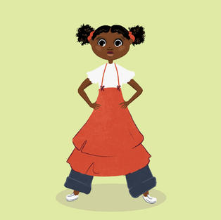Example of Character Sketch | Think Big Talk Big and Believe Big | Faustina Mullings