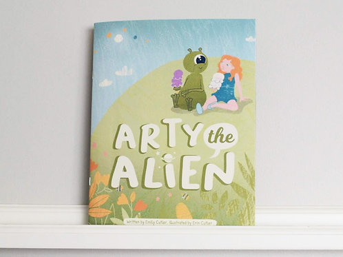 Arty The Alien, Published by Inkling Publishing