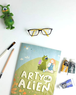 Book Illustration with Paints