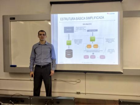 """Palestra sobre """"Backup de Banco de Dados"""" na Universidade Mackenzie"""