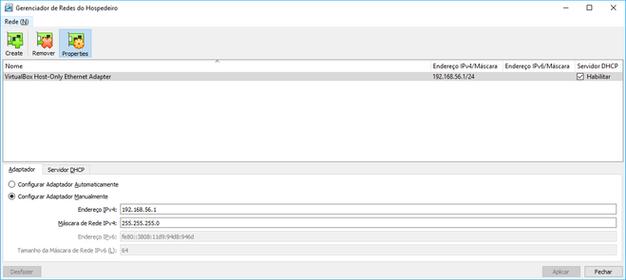 VM para download contendo Oracle Linux 7 e Oracle Database 18c