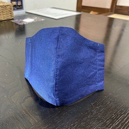 藍染マスク(勝色)