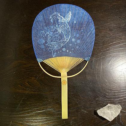 【昇鯉】〜藍染×竹骨〜