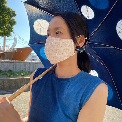 麻の葉マスク(PINK)