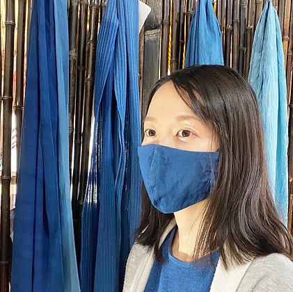 藍染マスク(中藍)