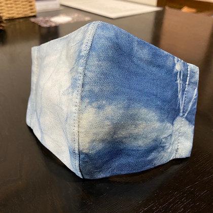 藍染マスク(空流)