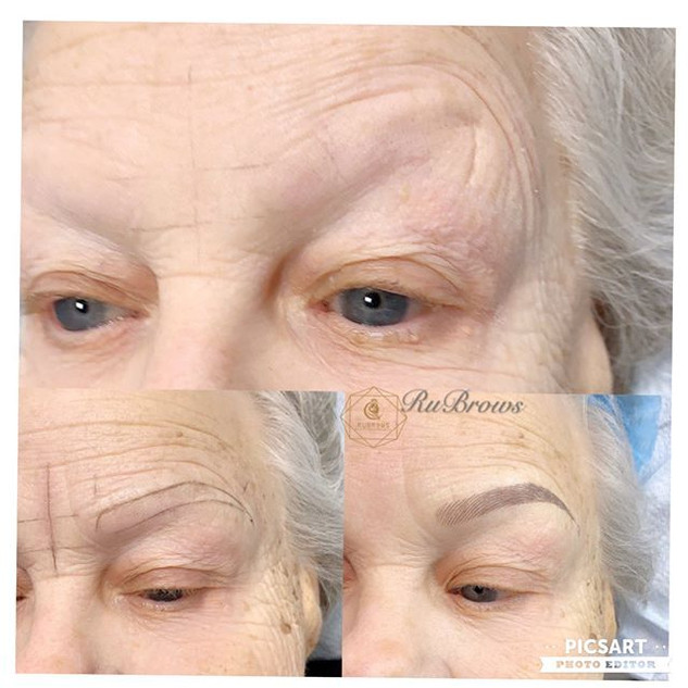 How eyebrows can make people younger loo