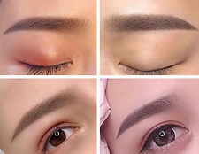 Microshading eyebrows