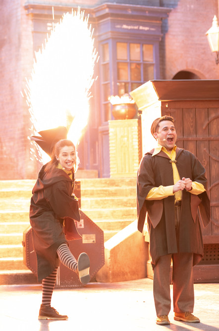 The Tales of Beedle the Bard at Universal Studios