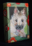 Custom Pet Painting of Cairn Terrier dog