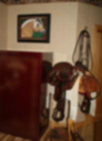 Fjord Horse handpainted portrait