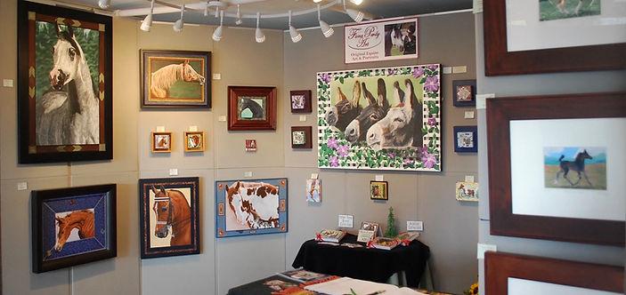 Fiona Purdy Original Horse Paintings