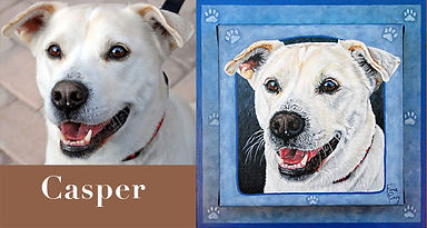 Custom Dog Pet Portraiture